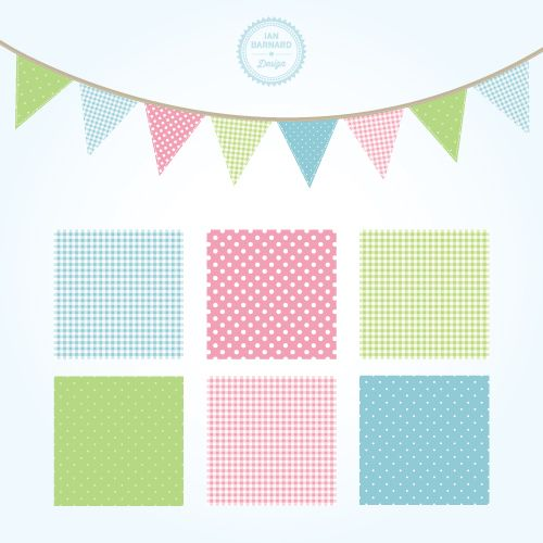 500x500 Free Shabby Chic Graphics Clip Art For Your Blog Bunting