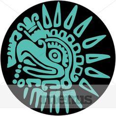 236x236 Set Of Mexican Design Elements Aztec Symbols, Aztec And Symbols