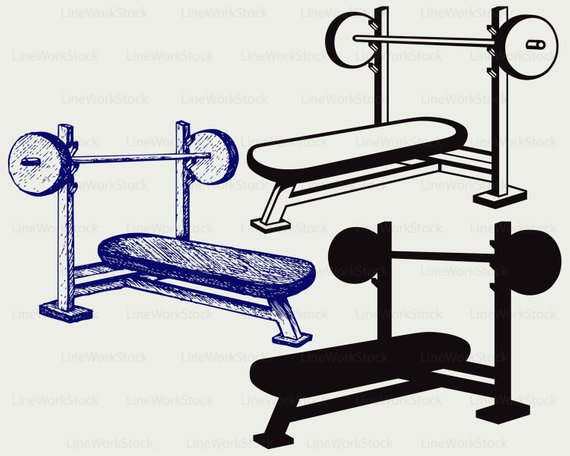 570x456 Weight Bench Svgench Press Clipartweight Bench Svgdumbbell
