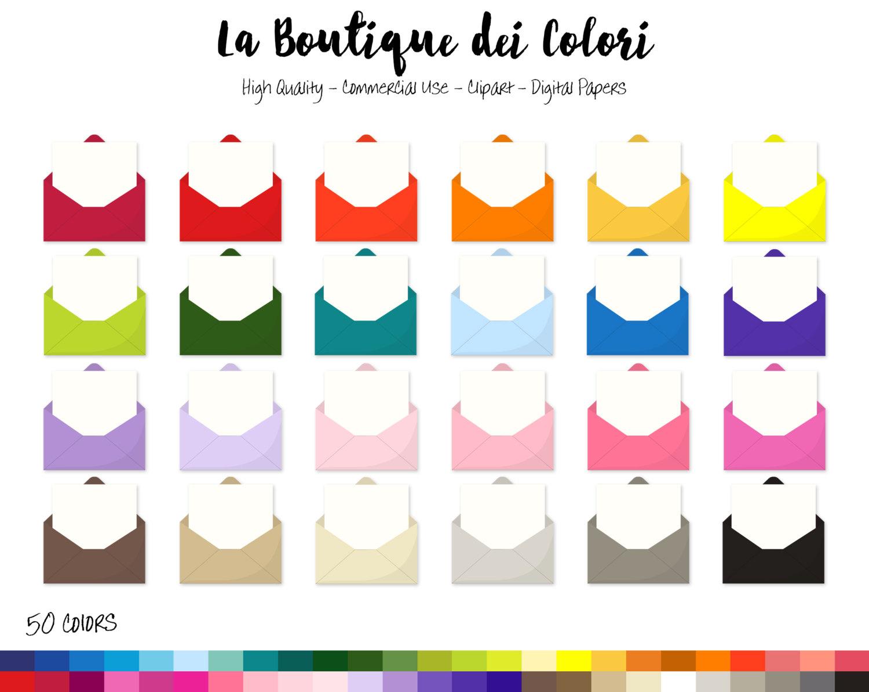 1500x1192 50 Rainbow Opened Envelopes Clipart, Cute Love Letter Digital