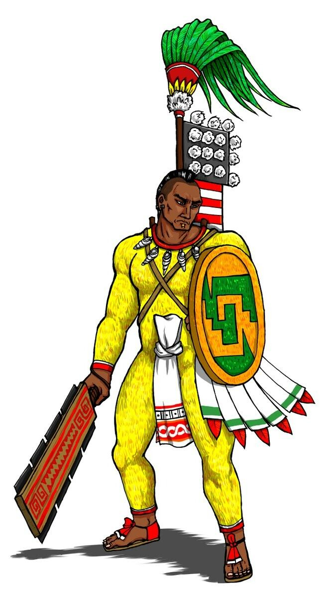 669x1195 He Is A Quachic, A Aztec Warrior Httpsnosuku