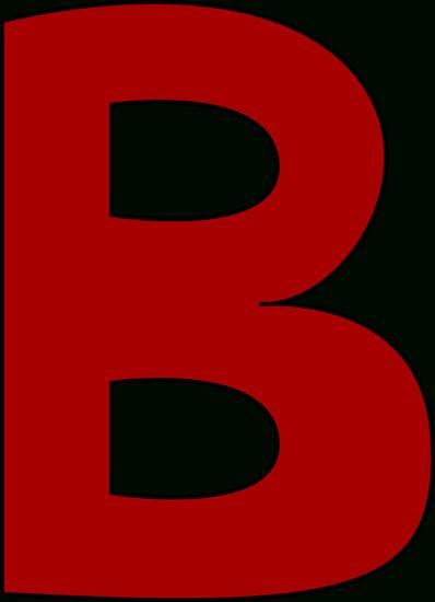 398x550 Letter B Clipart