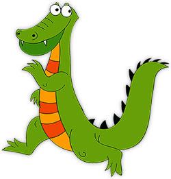 250x261 Free Alligator Gifs