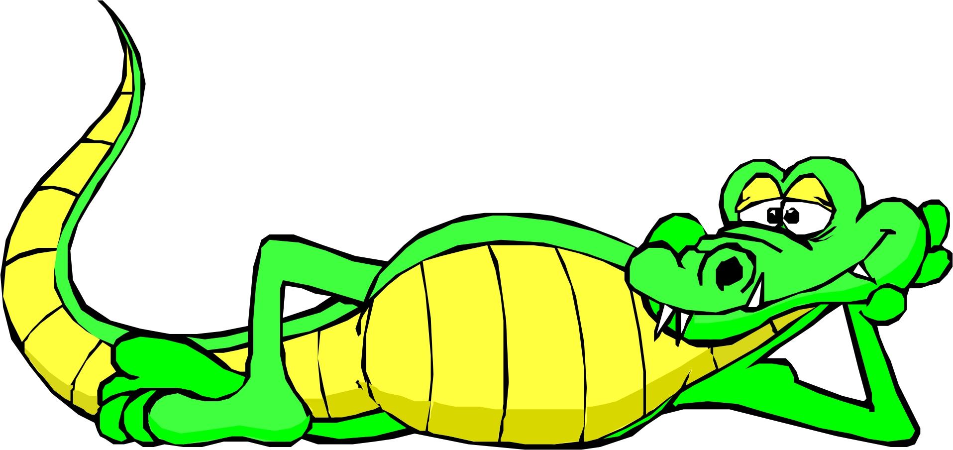 1915x904 Free Clip Art Alligator Clipart Image