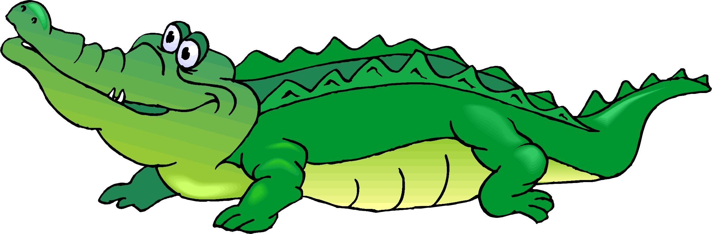 2382x785 Gator Clip Art Use These Free Images For Your Websites, Art