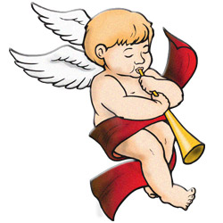 250x250 Collection Of Christmas Baby Angel Clipart High Quality