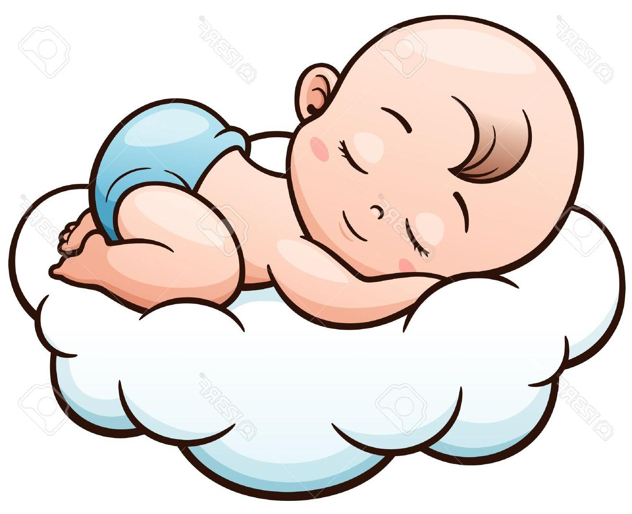 1300x1056 Sleeping Baby Clipart
