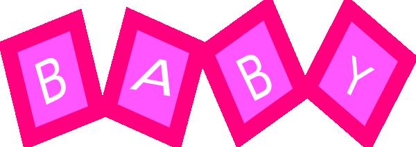 600x212 Baby Blocks Svg Clip Arts Download