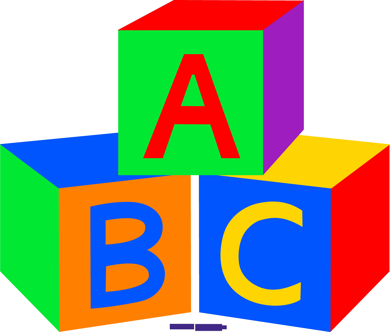 5170x4401 Baby Building Blocks Clipart