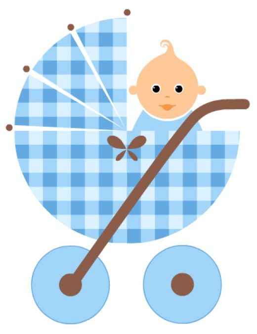520x675 Free Baby Or Baby Shower Clipart