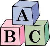 165x152 Abc Block Clipart