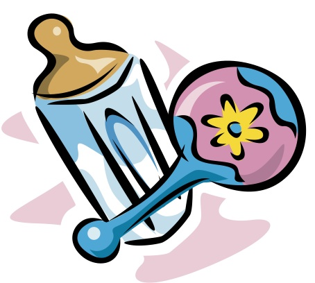 454x408 Image Of Baby Bottle Clipart