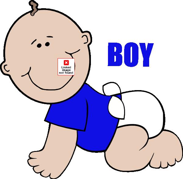 600x588 Baby Boy On Floor Crawling Clip Art