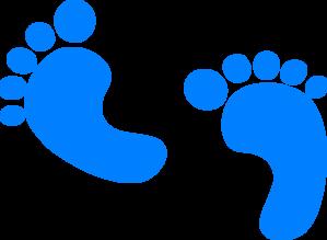 299x219 Baby Boy Foot Clip Art Clipart