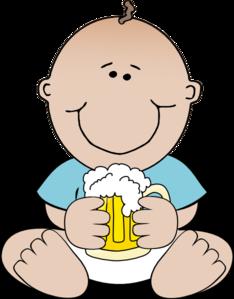 234x299 Beer Baby Clip Art