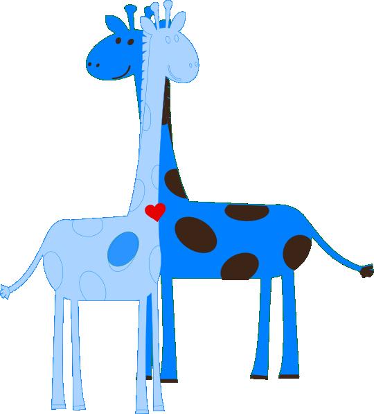 540x597 Boy Giraffe Baby Shower Clip Art