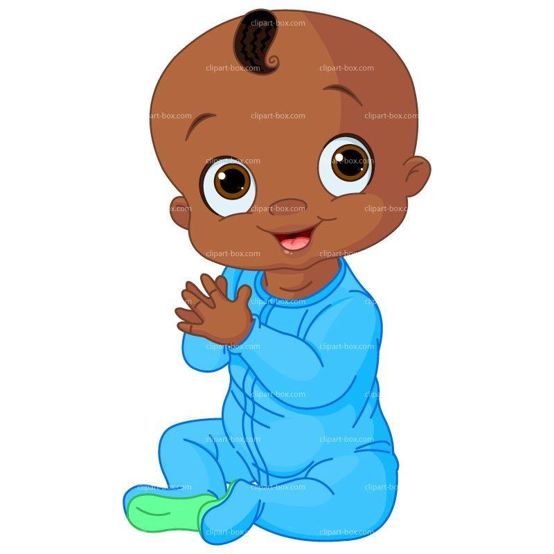 800x800 Gallery Black Baby Boy Clip Art,