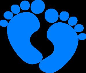 298x255 Baby Boy Clip Art Baby Feet Clip Art