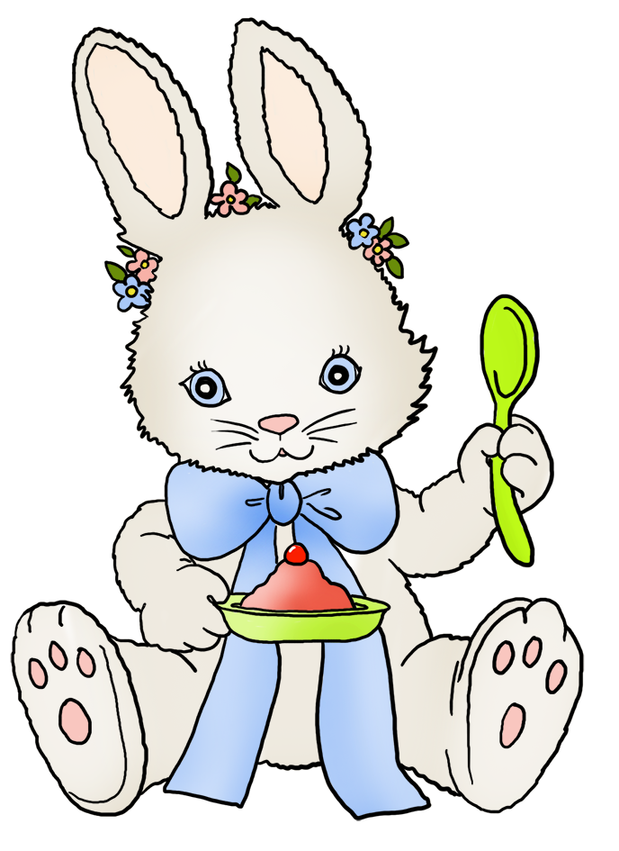 688x945 Funny And Cute Easter Clip Art