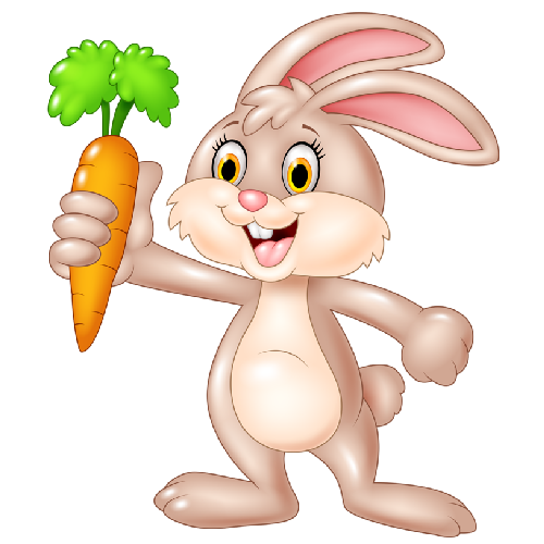 500x500 Baby Rabbit Holding Carrot 1.png