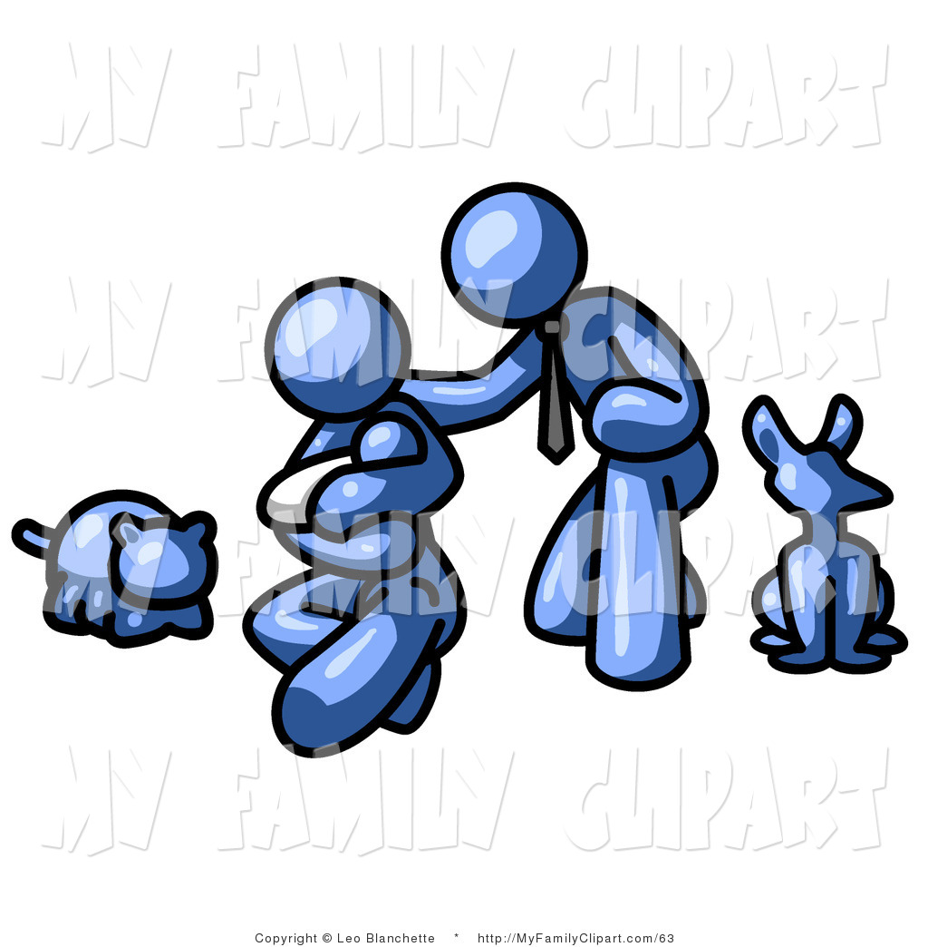 1024x1044 Clip Art Of Kneeling Parents With Their Newborn Baby And Their Dog