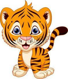 236x274 Cute Cartoon Cheetah Cute Tiger Cartoon Stock Vector Clipart