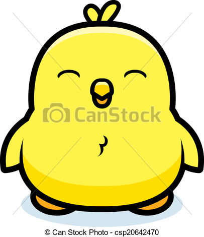 406x470 Baby Chick Clipart A Cartoon Ba Chick Smiling And Happy Vectors