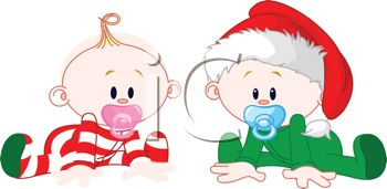 350x171 Babies Dressed For Christmas
