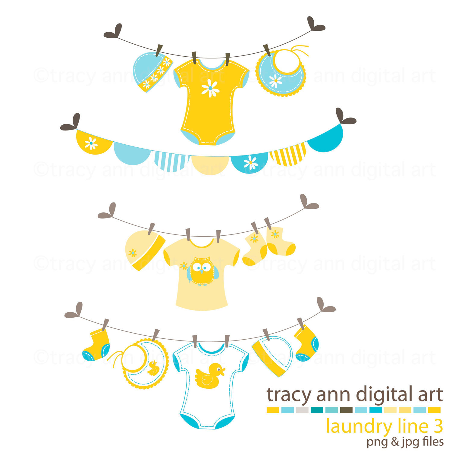1500x1500 Baby Clothesline Clipart Group