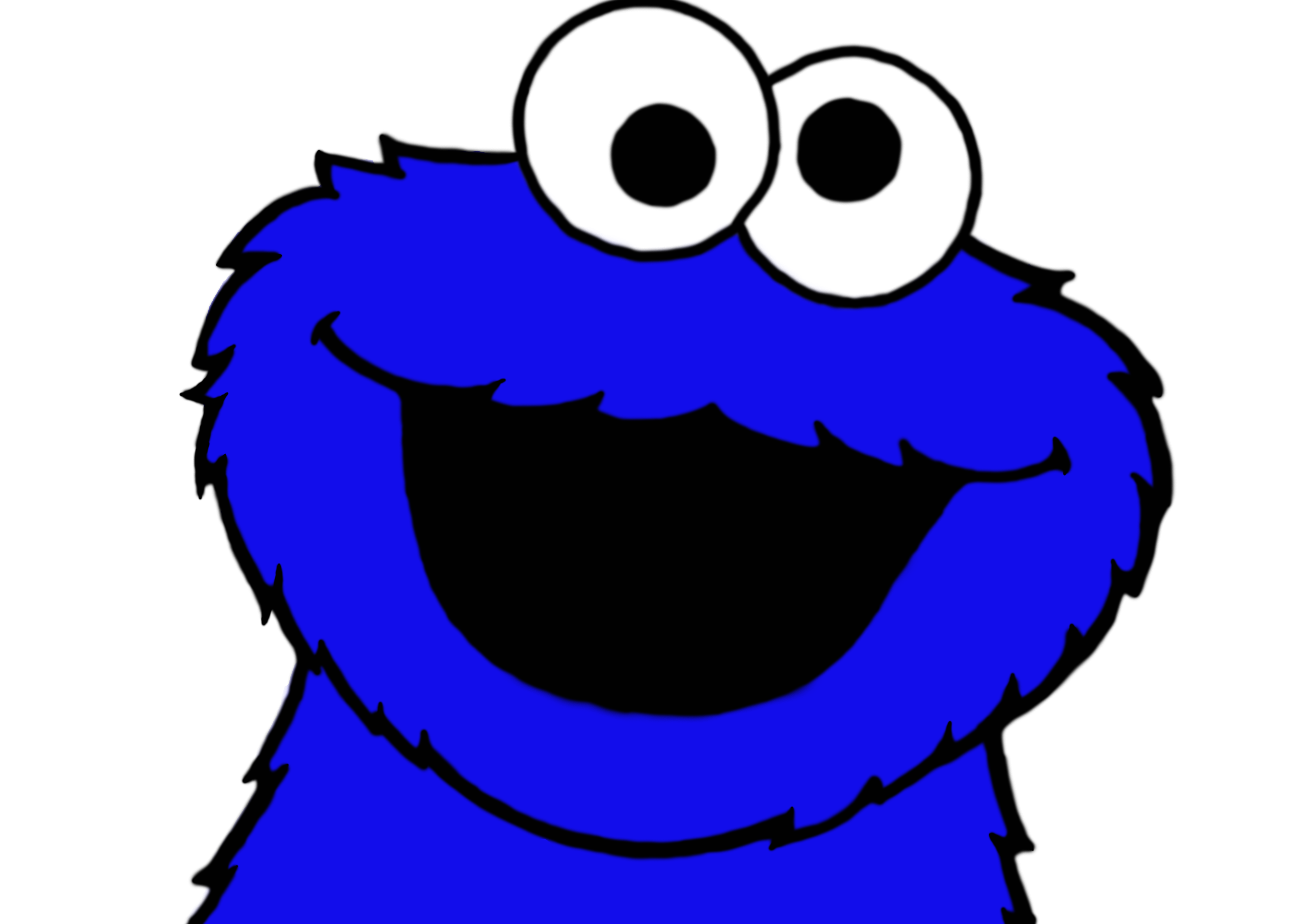 4961x3508 Cookie Monster By Plzexplode