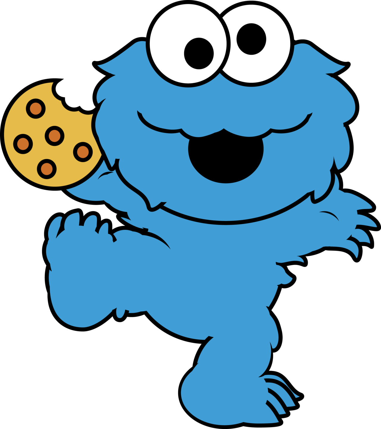 1280x1441 Cookie Monster