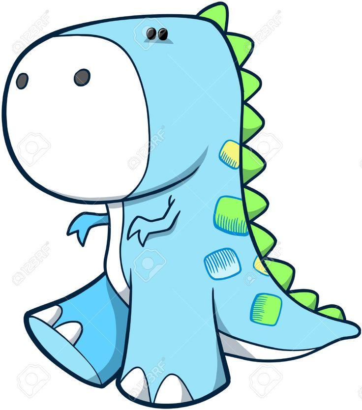 Baby Dino Clipart