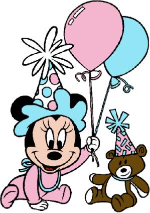 299x424 Free Disney Birthday Clipart And Disney Animated Gifs