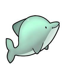 220x220 Cute Dolphin