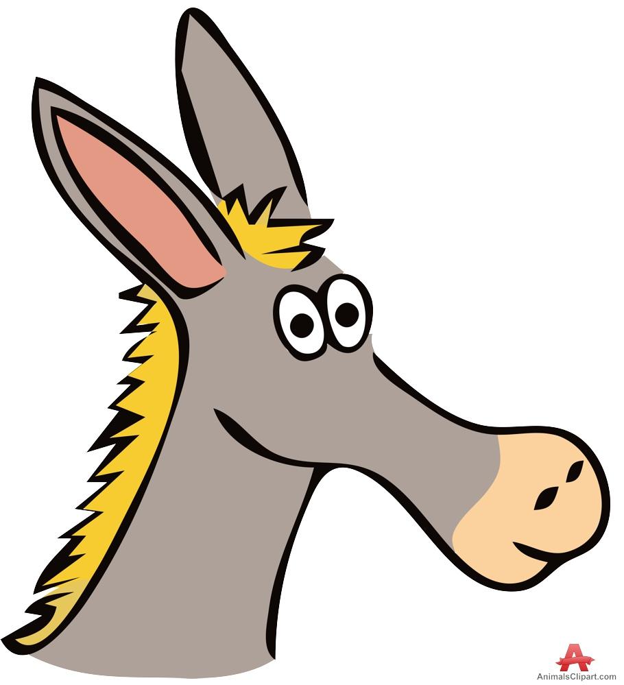 Baby Donkey Clipart