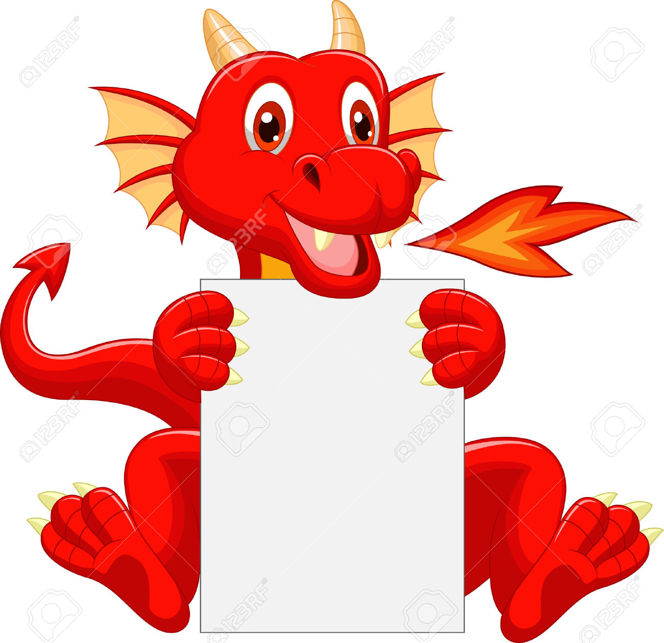 Baby Dragon Clipart