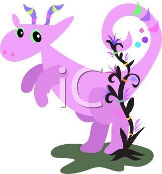 327x350 Whimsical Baby Dragon