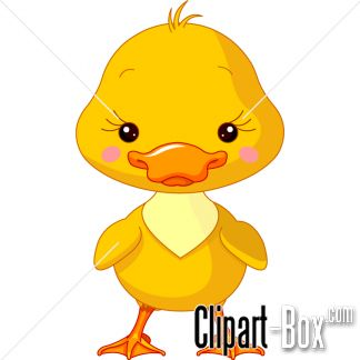 Baby Duckling Clipart