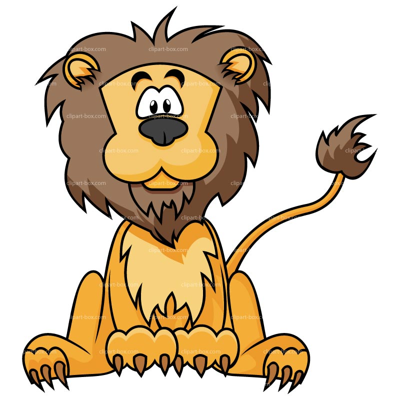 800x800 Lion Cartoon Clipart