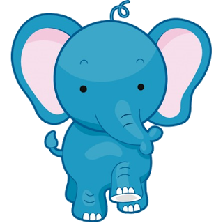 320x320 Cute Baby Elephant Cute Cartoon Clip Art Images. All Images Are