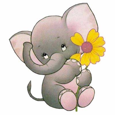 400x400 Cute Elephant Clip Art Logo Unhas Elements Set Elephant Cartoon