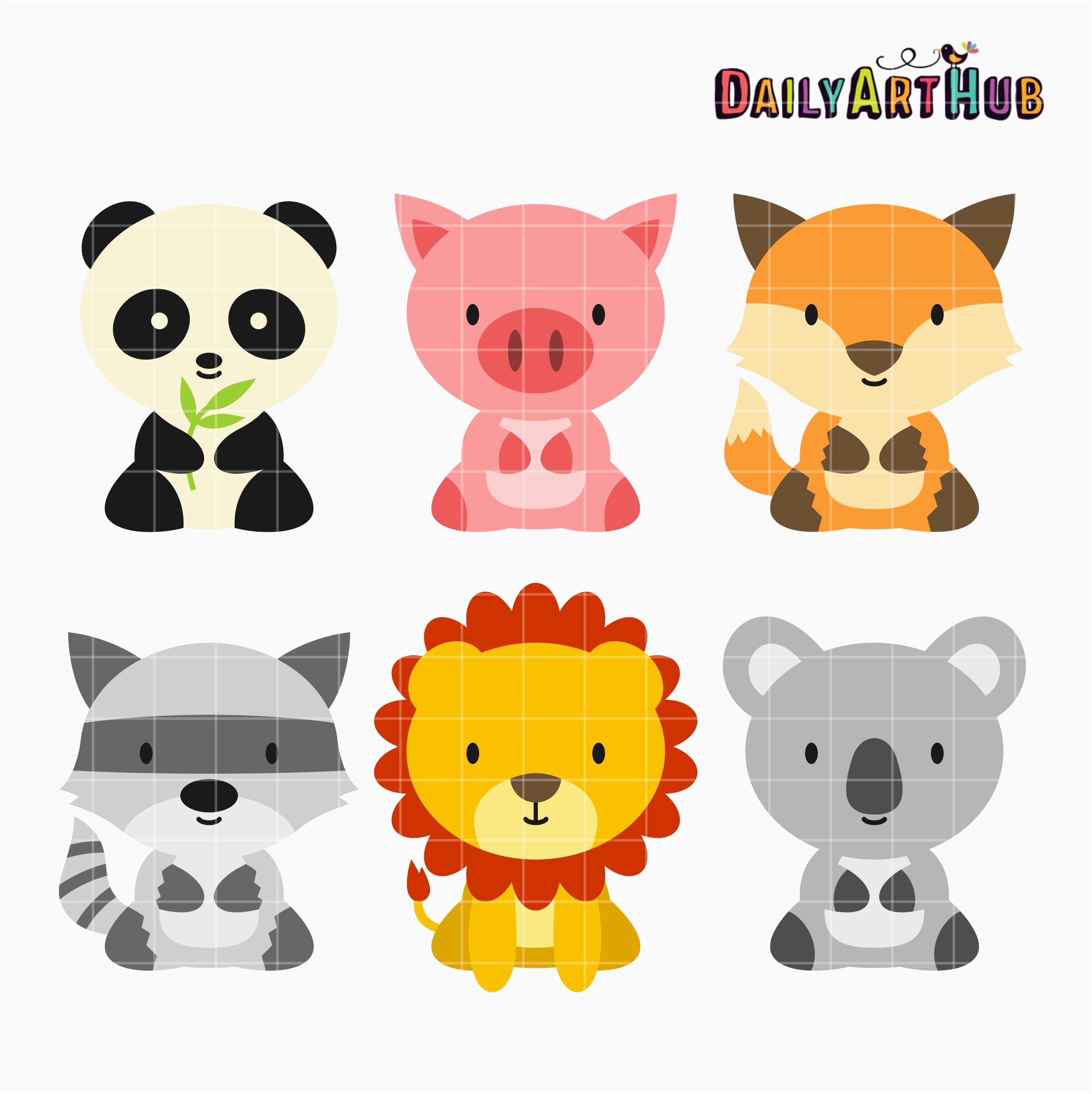 2664x2670 50 New Baby Animal Clipart Clipart Ideas