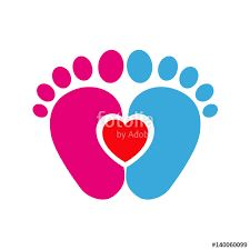 225x225 Baby Footprint Clip Art