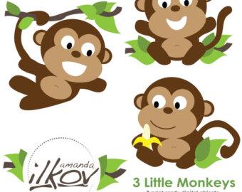 340x270 Monkeys Clipart