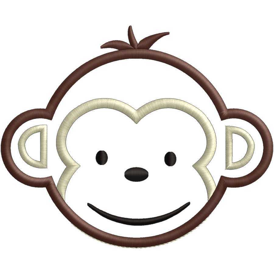 baby girl monkey clipart at getdrawings com free for personal use rh getdrawings com happy monkey face clipart happy monkey face clipart
