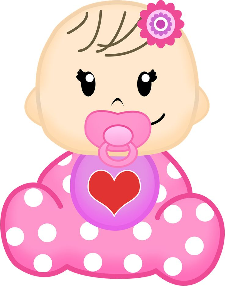 Baby Girls Clipart