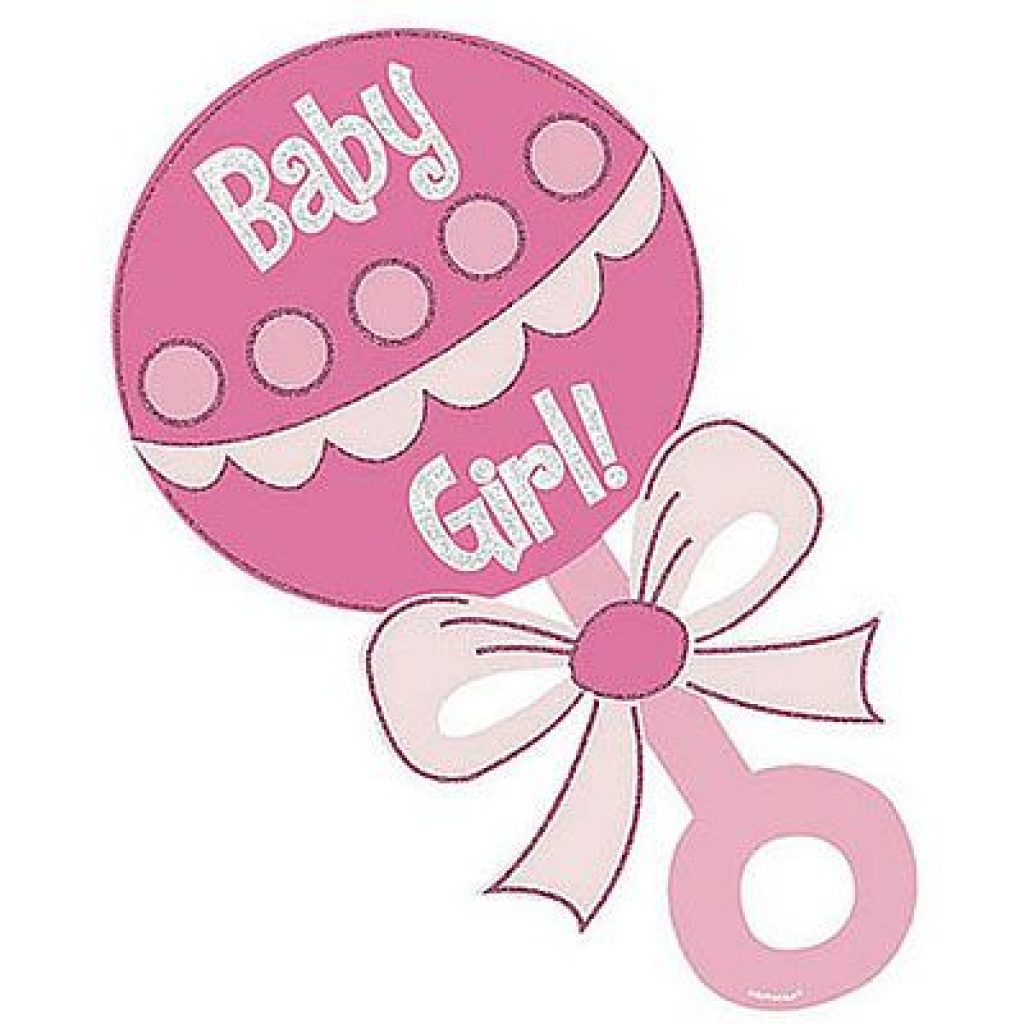 1024x1024 Baby Girl Shower Clip Art Free