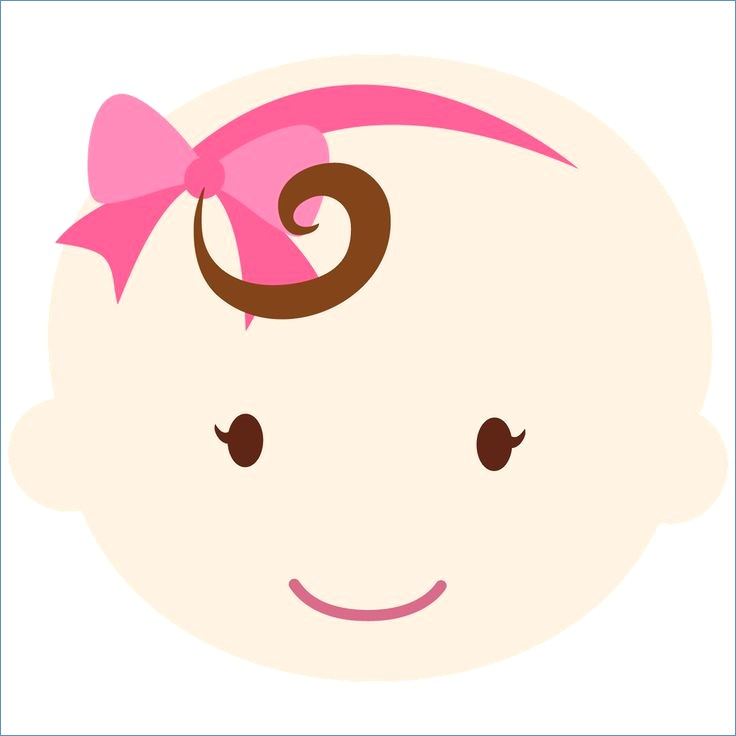 736x736 Baby Shower Girl Clipart