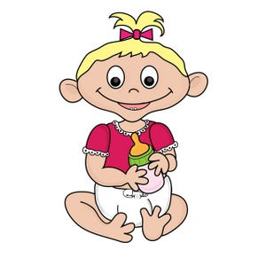 300x300 Free Baby Girl Clipart Image 0515 1002 0311 3013 Baby Clipart