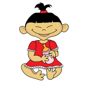 300x300 Free Baby Girl Clipart Image 0515 1002 0311 3408 Computer Clipart
